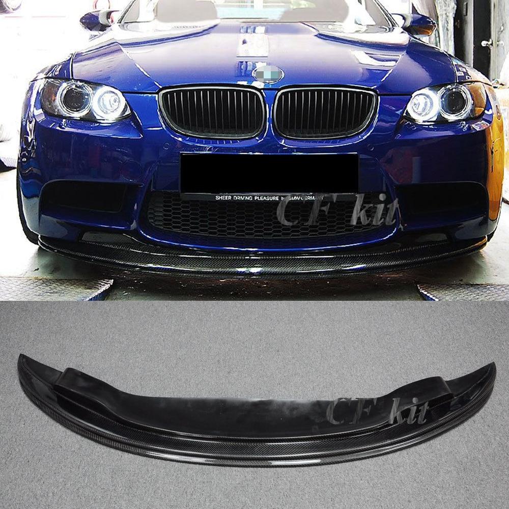 GTS Carbon Fiber Rear Bumper Extension Splitter Lip For BMW E92 E93 M3 Only CF