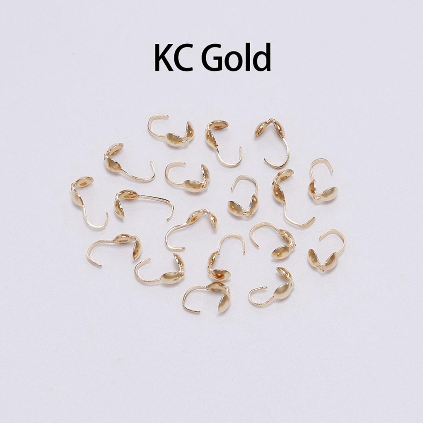 200pc necklace Snap clasps Fastener Clasp Hooks DIY silver color necklace clasps