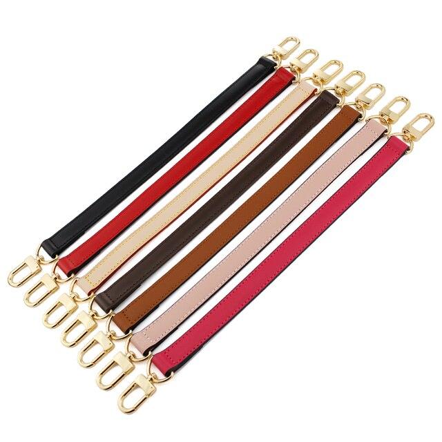 BAMADER obag Handle Short Bag Strap Short Shoulder Strap Handbag strap Genuine Leather Bag belt High Quality Handbag Accessories 6