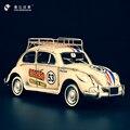 Antique Ironwork Beetle Herbie No. 53 Chafer Car Model Ironwork Home Decoration Accessories