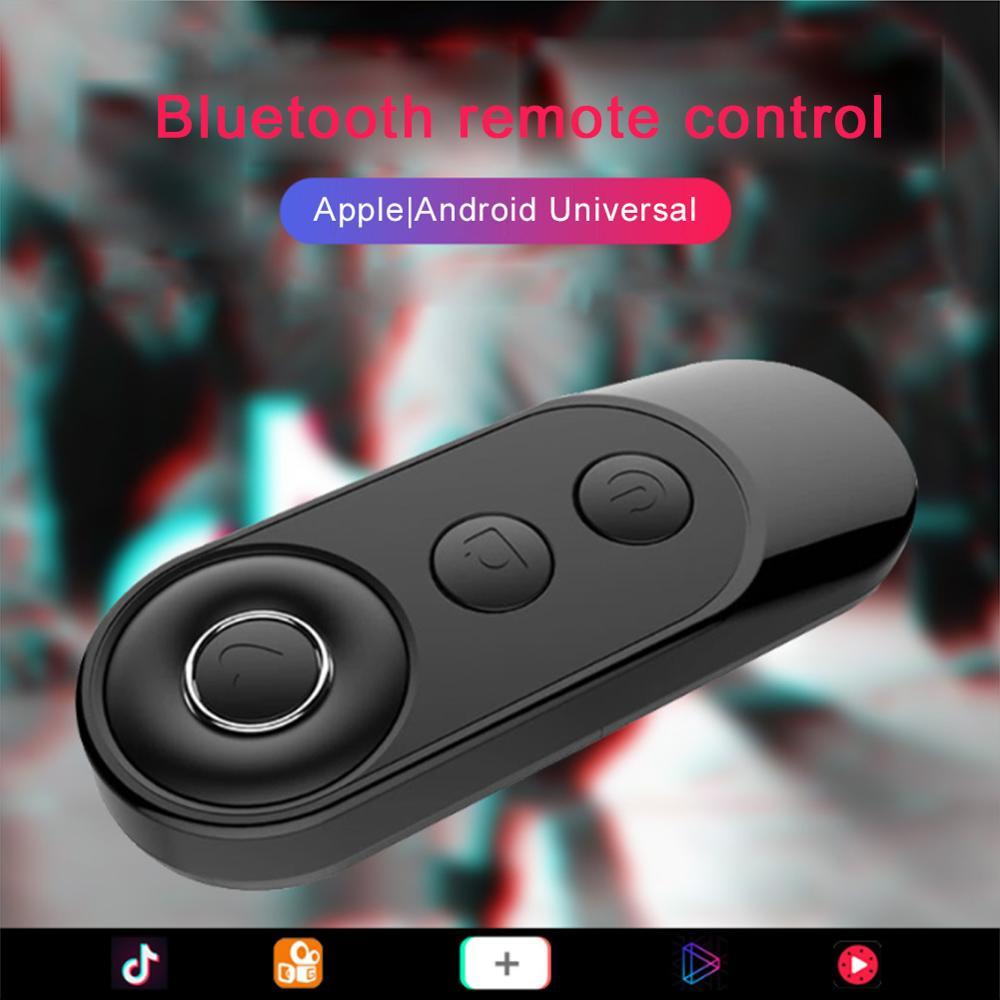 Мини-фотография Bluetooth кнопка спуска затвора селфи Управление камерой ler адаптер для селфи фото пульт дистанционного управления