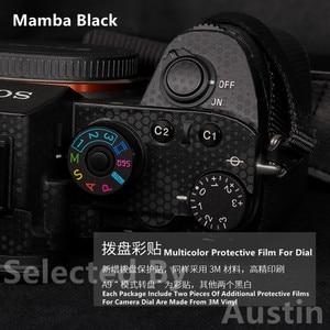 Image 3 - פרימיום מדבקות עור עבור Sony A7III A7R3 A7M3 מצלמה עור מדבקות מגן נגד שריטות מעיל לעטוף כיסוי מקרה
