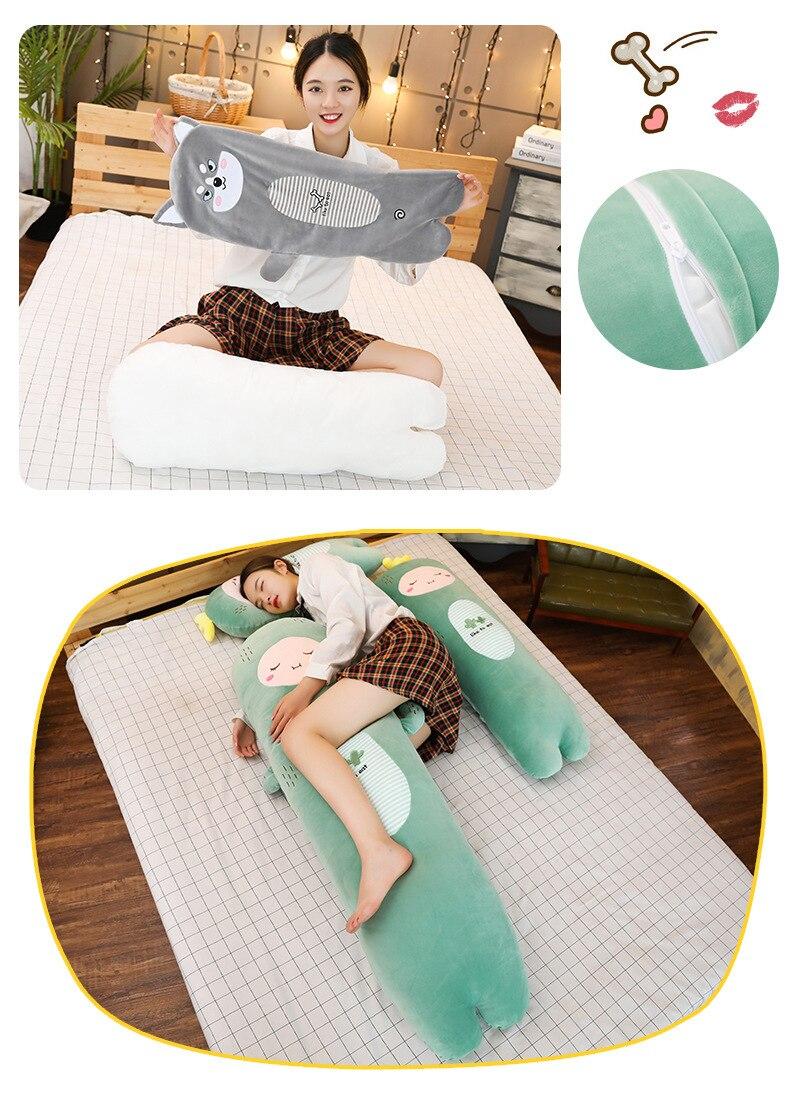 59in pp algodão engraçado brinquedo travesseiro meninas