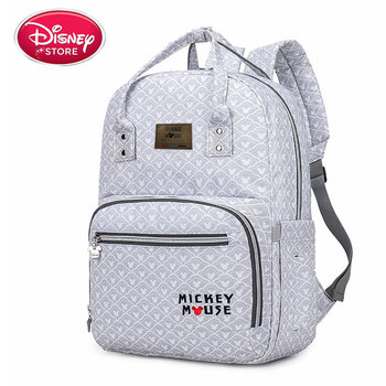 Original 2020 New Disney Mommy Bag Multifunctional Large Capacity Mommy Bag Waterproof Backpack Mother And Baby Bag mommy stories