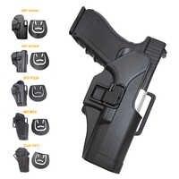Jagd Pistole Pistole Holster Für Glock 17 19 22 Beretta M9 M92 Colt 1911 Sig Sauer P226 USP Airsoft Holster tactical Gürtel Holster