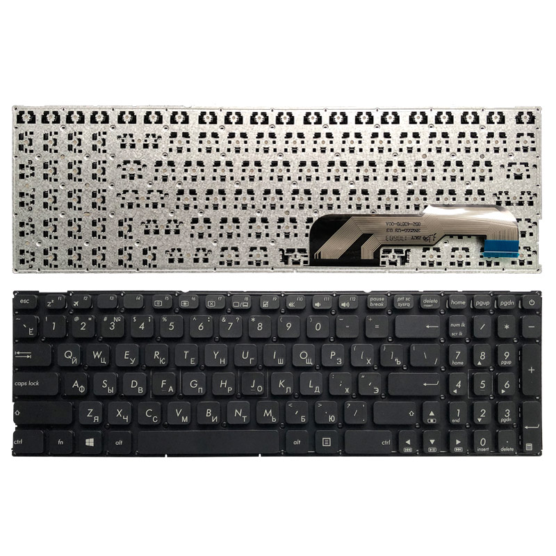 Russian Laptop Keyboard For Asus X541 X541U X541UA X541UV X541S X541SC X541SA X541UJ R541U R541 X541L X541S  X541LA RU Keyboard