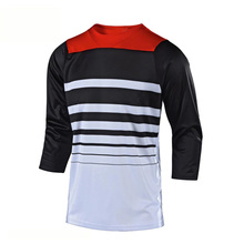 2020 Quick Dry MX Bike Motocross Jersey  DH MTB TShirt Clothes 3/4 Sleeve MTB Breathable Quick Drying Enduro Jersey