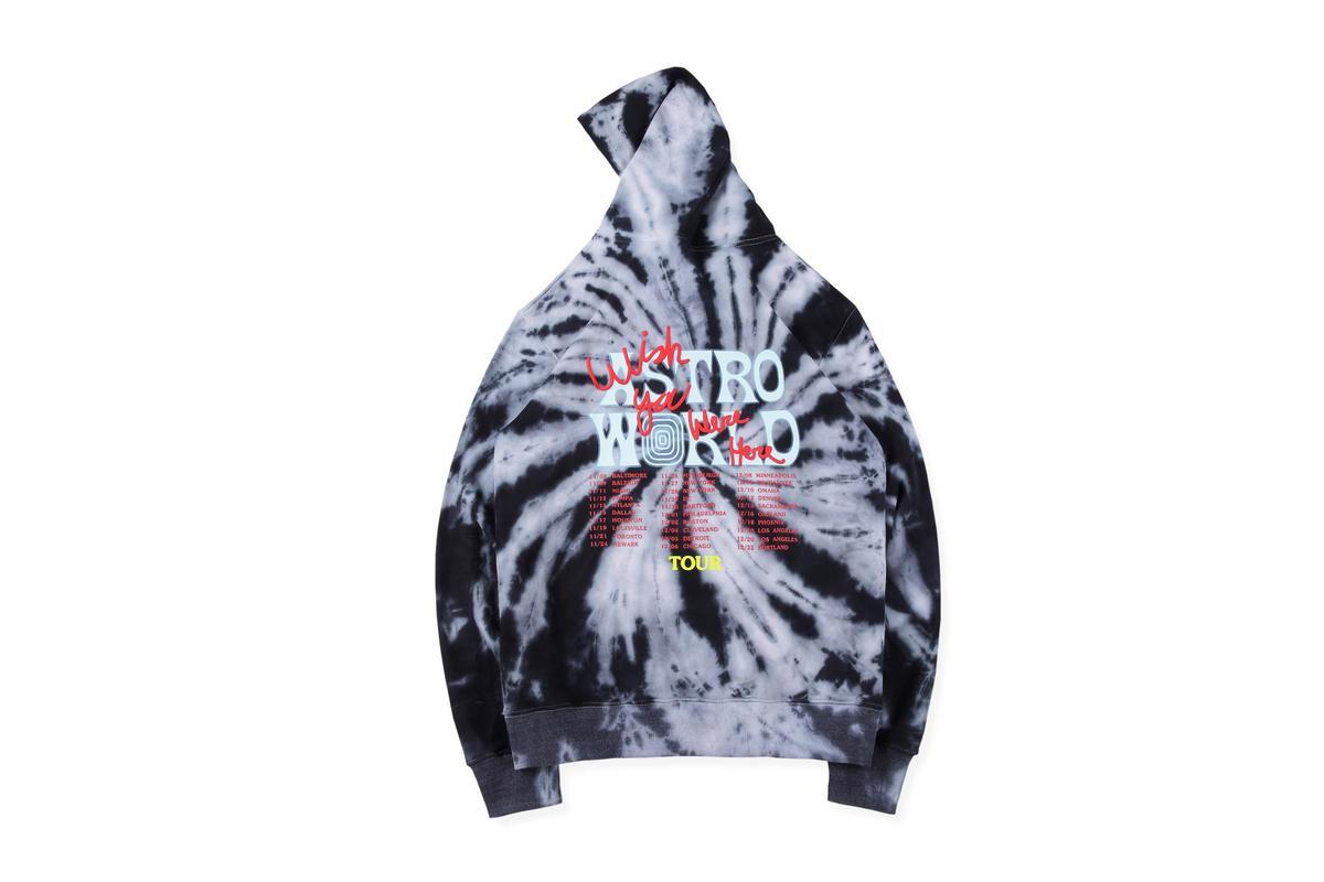 19SS Travis Scott Astroworld Black Hole Vortex Hoodie Kanye Lightning Hip Hop Tee High Quality Travis Scott Sweatshirt Men Women