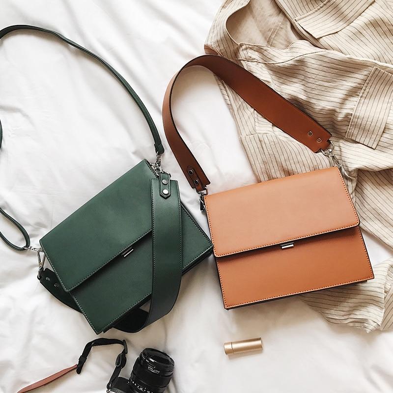 Big Sale 2019 Bags Women Fashion Simple Commute Briefcase Summer New Small Square Bag Wild Shoulder Messenger Bag Multi-function