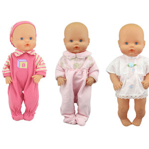 3pcs in one, Doll clothes Wear fit for 35 cm Nenuco Doll Nenuco, Children best Birthday Gift
