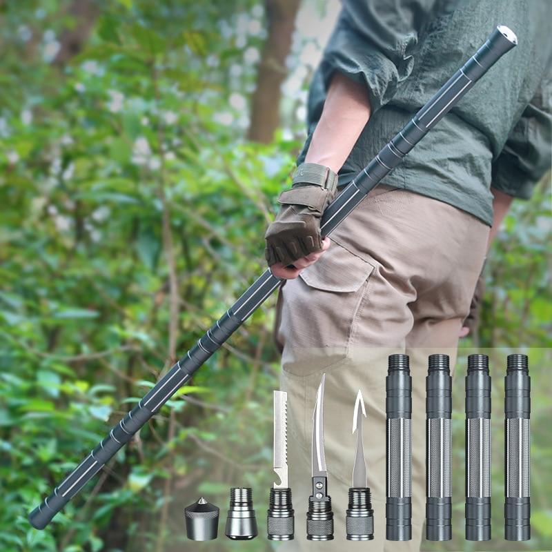 ANTARCTICA Outdoor Camping Hiking Survival Tool self defense Sticks Multifunctional Survival Kit Climbing Emergency Equipment|Safety & Survival| - AliExpress