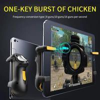Finger Ipad PUBG Controller capacità Trigger di gioco Mobile pulsante L1R1 Gamepad Joystick Grip per accessori per Tablet IPhone