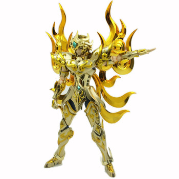 MC Model EX Leo Aioria Saint Seiya Metal Armor Myth Cloth Gold Ex Action Figures Model Toys 2