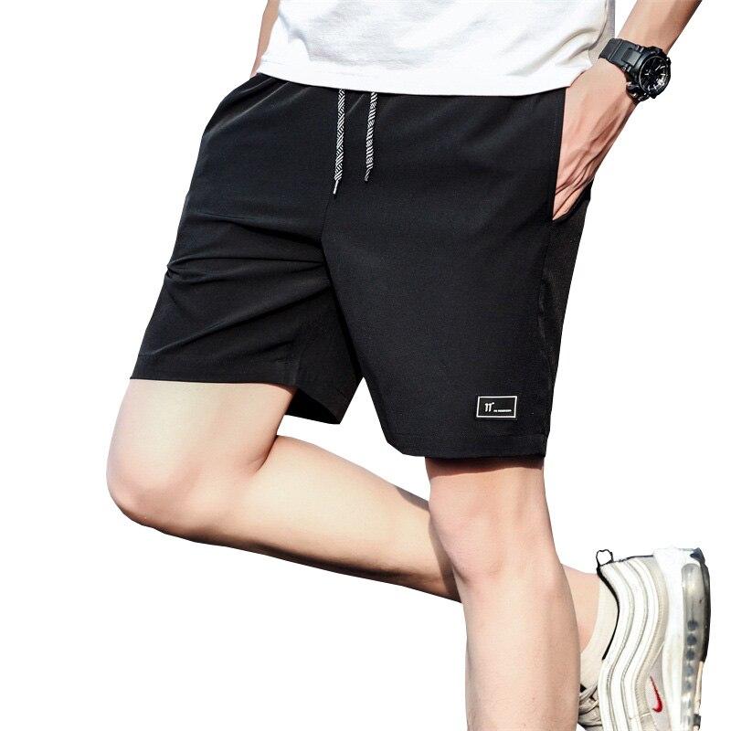 Летние Шорты 2021 Новый Для мужчин с 5-ти точечные Шорты Для мужчин, модные повседневные штаны Свободные размера плюс спортивные штаны