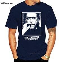 Marca camisa masculina charles bukowski encontrar o que você ama e deixá-lo matá-lo camisa
