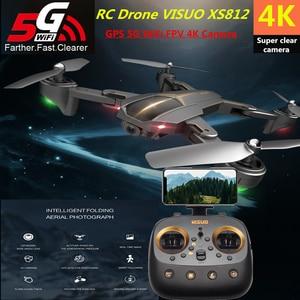 VISUO XS812 RC Drone 4K GPS Dr