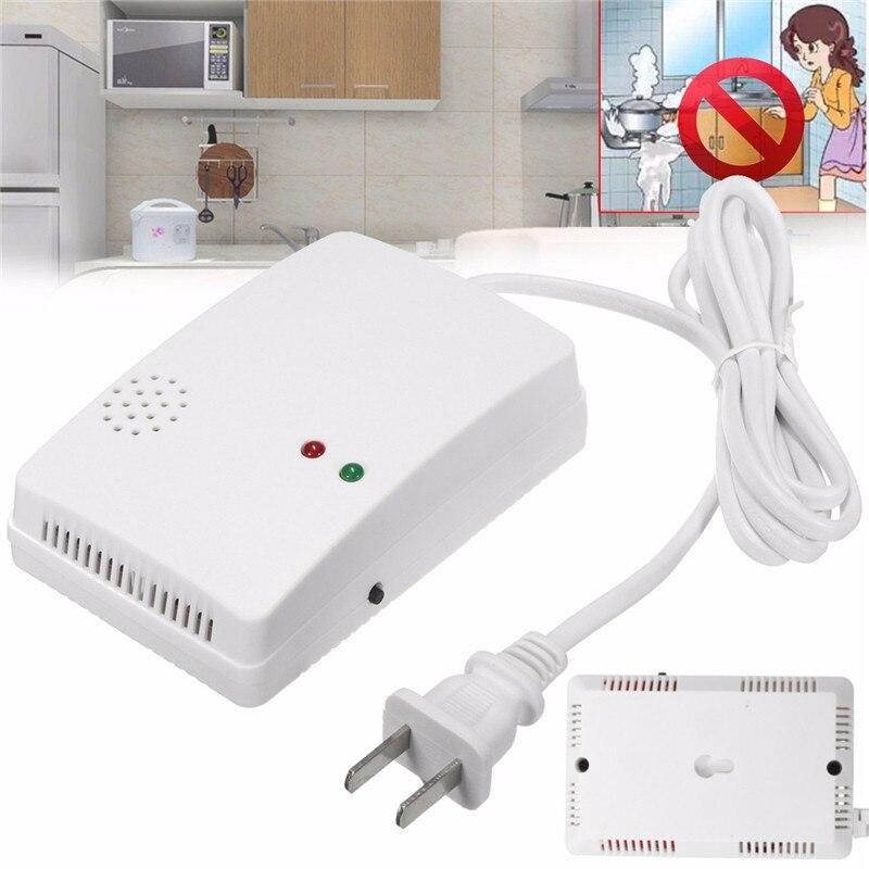 LPG Gas Detector Sensor Alarm Warning Propane Butane LPG Natural Camper Home Security