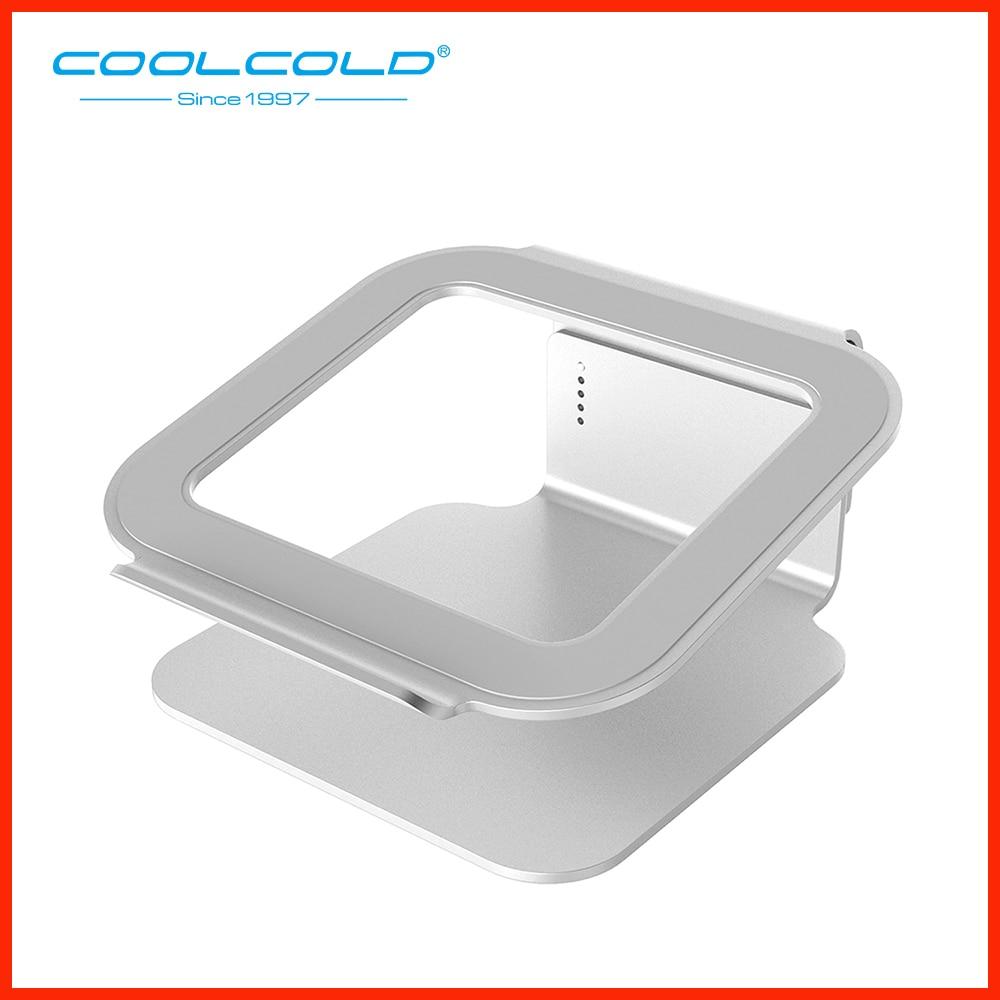Aluminium Laptop Cooling Holder Laptop Stand For 12'' 15.6'' Laptop Macbook Air Pro Samsung Notebook Cooler