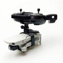 Dji mavic 미니 3d 인쇄 카메라 예비 부품에 대 한 휴대용 핸드 헬드 짐벌 안정제 드론 삼각대 홀더 브래킷