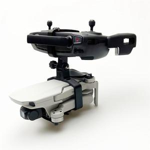 Image 1 - ポータブルハンドヘルドジンドローン三脚ホルダーブラケット dji Mavic ミニ 3D プリントカメラスペアパーツ