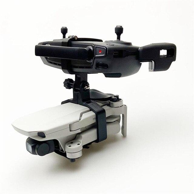 ポータブルハンドヘルドジンドローン三脚ホルダーブラケット dji Mavic ミニ 3D プリントカメラスペアパーツ