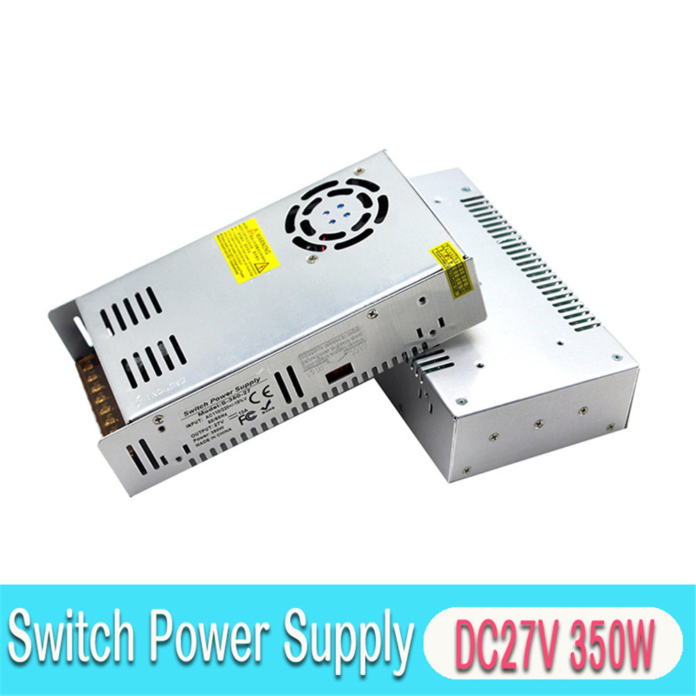 Variable DC Power Supply <font><b>27V</b></font> 13A 350W Driver Transformer AC To DC27V Power <font><b>Adapter</b></font> for Lighting Stepper Motor CNC Router image
