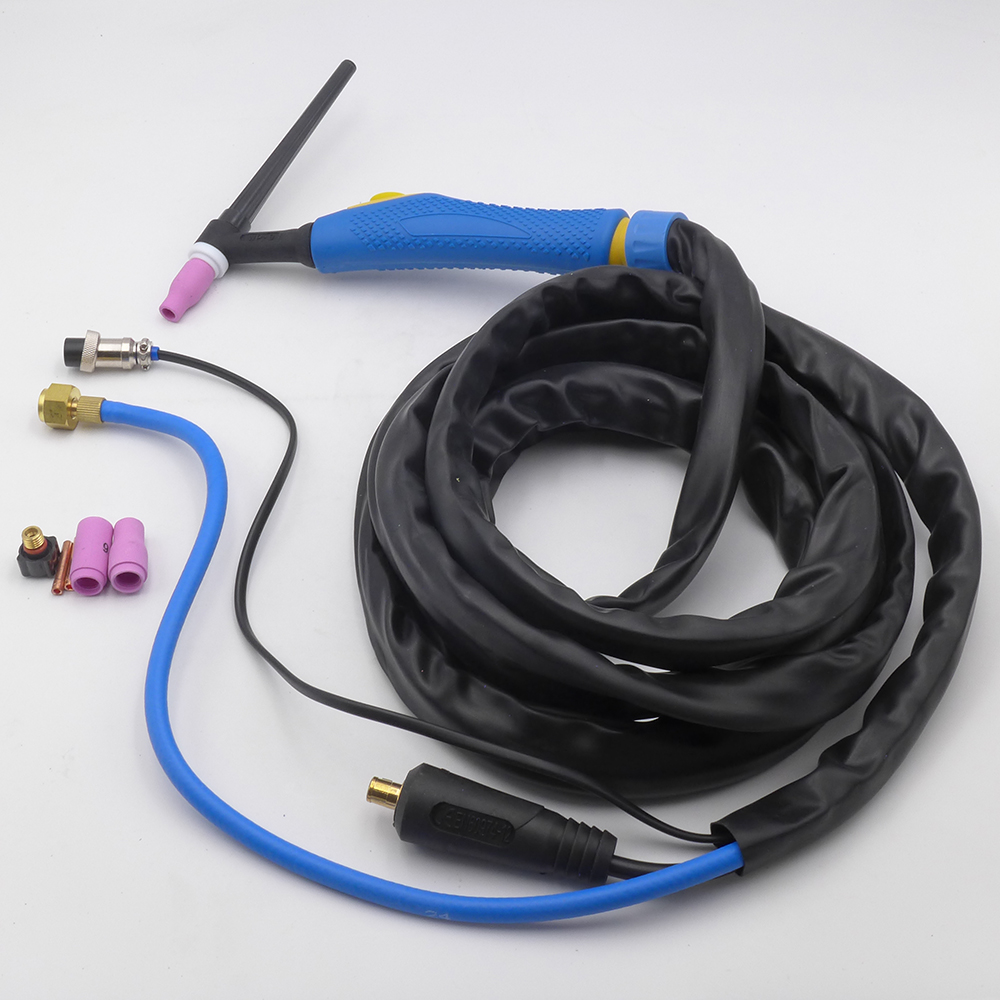 4M WP-9 tig wp9 Air Cooled Argon Arc Welding Torch wp9 tig torch with DKJ10-25 connector separated type
