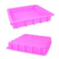 3000ML Silikon Rendering Seife Form DIY Platz Handgemachte Loaf Verdickt Seife Mould 3KG Kapazität Seifen, Der Werkzeuge