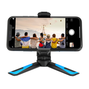 Image 2 - APEXEL 360 Rotation Camera Tripod Portable Stretch Handheld Tripod With Bluetooth Mobile Phone Clip For Gopro xiaomi iPhone