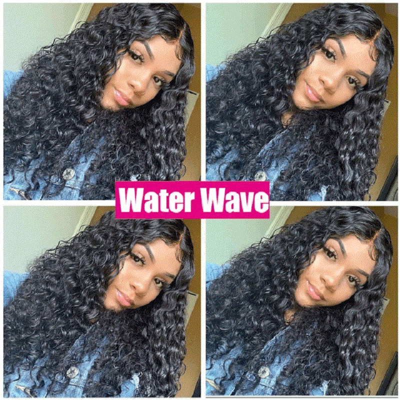 Water Wave 13*4 Lace Front  Wigs 180% Density Arabella  PrePlucked Lace Frontal Wig With Baby Hair Lace Front Wig 5