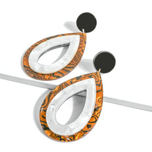 Stainless Steel Water Droplets Earrings For Women Fashion Big Teardrop Shape Drop Jewelry Gift Dropshipping