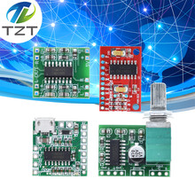 Tzt PAM8403 Mini Digitale Versterker Boord 2*3 W Klasse D Digitale Dc 2.5V Naar 5V Power bluetooth Luidspreker Module Met Potentiometer(China)