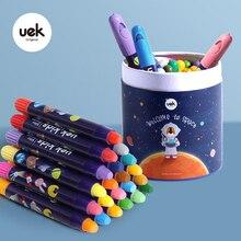 UEK ילדים רחיץ עפרונות לא רעיל משיי רחיץ Twistable ג ל עפרון גדול עפרונות בטוח עבור תינוק ילדי פסטל צבעי מים