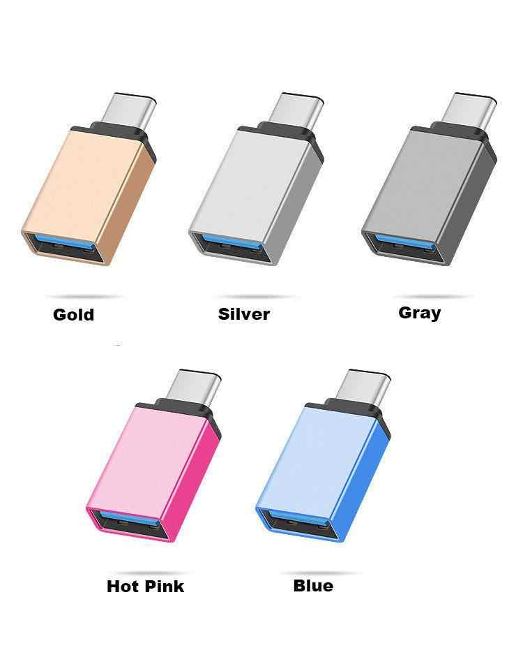 Kuulee USB-C نوع C 3.1 الذكور إلى USB 3.0 نوع A شاحن أنثي مزامنة البيانات Hub وتغ
