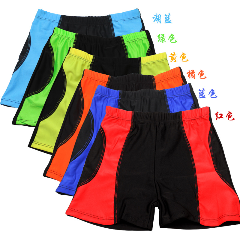 BOY'S Swimsuit Mixed Colors Quick-Dry Breathable Swimming Trunks Children AussieBum Light And Comfortable Hot Springs Students S
