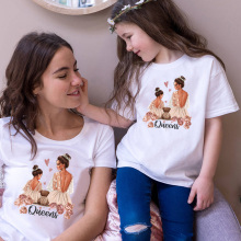 Tops T-Shirt Day-Present Family-Look Daughter Girls Super-Mom Boys Kids Fashion Son Print