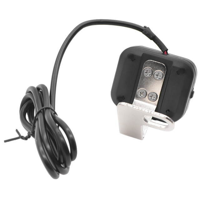 2 in 1 LED Digital Motorcycle  Temperature Gauge Voltmeter Voltage Gauges DC 8.0 ~ 30.0 V Display Range  for NMAX Yamaha