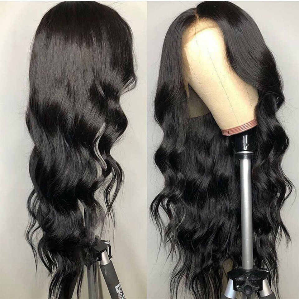 13x4 frente do laço perucas de cabelo humano 150% densidade remy onda do corpo brasileiro peruca dianteira do laço com pré arrancado cabelo jarin
