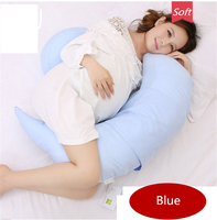 Puredown C Shaped Pregnancy Contoured Zippered Cover Maternity Body Pillow(FY22)