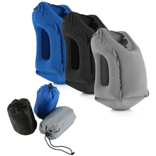Надувной Спальный мешок для путешествий подушка портативная Подушка Шейная подушка для наружного путешествия Поезд Самолет Отдых инструменты