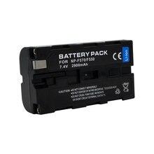 цена на 1pc High Quality 2900mAh NPF570 NPF550 NP-F570/F550 NP F570 F550 Battery For Sony CCD-RV100 CCD-RV200 CCD-SC5 SC5E  SC55 SC55E
