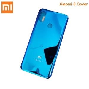 Image 4 - Xiaomi Mi המקורי זכוכית סוללה אחורי מקרה עבור Xiaomi 8 MI8 MI 8 פרו M8 8SE Mi8 פרו טלפון סוללה חזרה כיסוי Backshell + כלי
