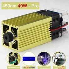 450nm 40w-professional versão, tecnologia de ponto comprimido cabeça do laser do foco ajustável, gravura ultra-rápida de aço inoxidável