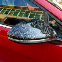 Кованый углеродный узор боковое зеркало крышка для VW Golf 7 MK7 7,5 GTD R GTI GTE VII крышка E-golf Sportsvan 2013 2018 2019
