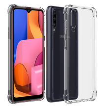 Airbag Transparent case ON For Samsung A20S TPU Coque shell capa on the For Samsung A 20 S e 20s 20e A20 A20s A205F A207 SM-A207