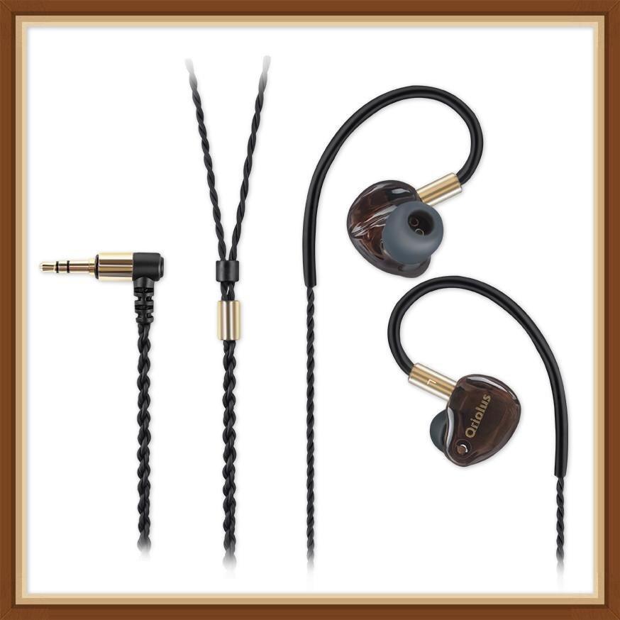 Oriolus Finschi 1DD+1BA Hybrid Technology Knowles Balanced Armature Dynamic Hifi Music Monitor In Ear Earphones Earbuds|Earphones| |  - title=