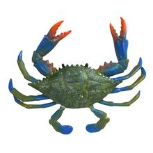 Имитация краба модель животного океана твердая фигурка детская развивающая игрушка подарок