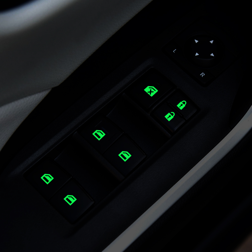 Автомобильный переключатель окна светящаяся наклейка для chevrolet spark cruze malibu onix colorado lacetti captiva aveo trax sonic silverado SS|Наклейки на автомобиль|   | АлиЭкспресс