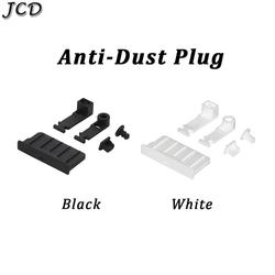 JCD 1set Silicone Anti-Dust Plug Earphone jack Charging Dock Dust Cap for Nintendo New 3DS XL/LL 3DSXL 3DSLL 2DS Cover