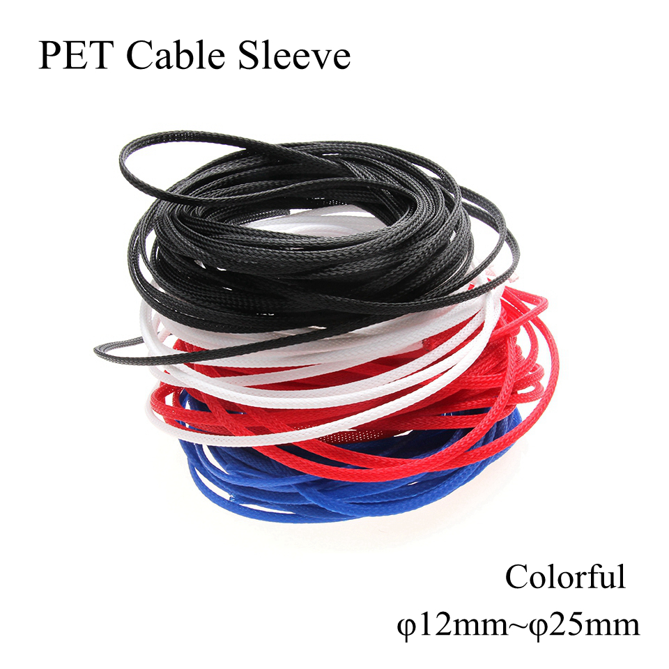 8mm Cable Cover for Sheath Sheathing Sleeve Sleeving Wiring Wire 5m 6mm